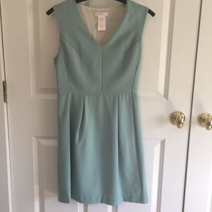 Esley seafoam green fitted dress